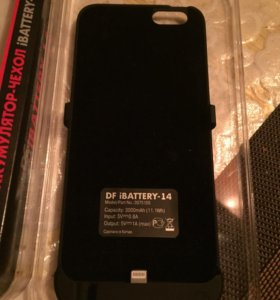 Чехол зарядка айфон 6,6s