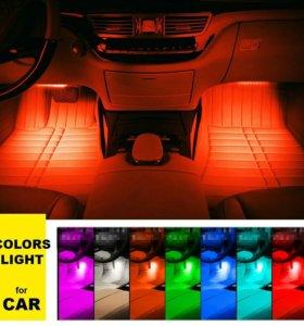 Led подсветка салона авто