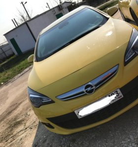 Opel Astra GTC купе