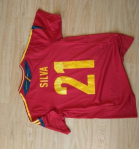 Чемпионская футболка сборной испании по футболу