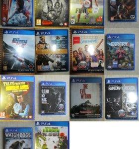 Игры на дисках для PS4, PS3, PS Vita
