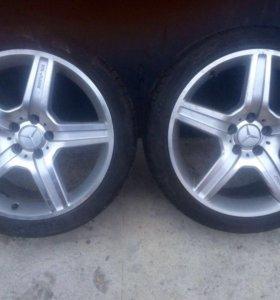 Комплект колес Mercedes 221