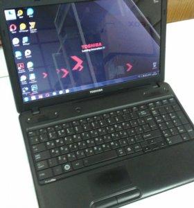Ноутбук Toshiba C660 15.6 Dual-Core 2Gb 320Gb