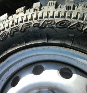 Грязевые колёса 205/70 R15