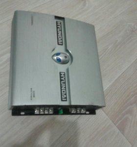 Продам усилитель Hyundai H-SA802 silver