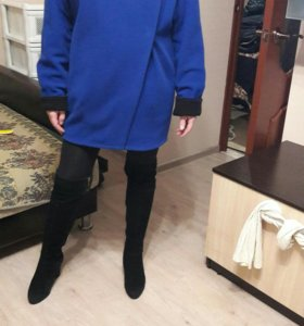 Пальто оверсайз р.46 (демисезонное)