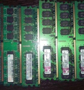 Оперативная память Ddr2. Для компьютера