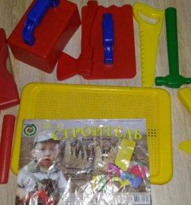"""Игровой набор """"Строитель"""" для детей"""