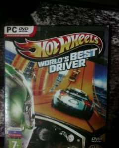 "Игра для PC ""Hot wheels world's best driver"""