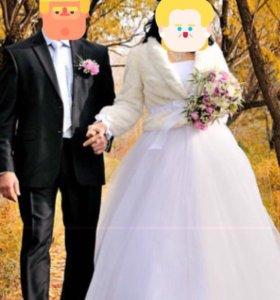 Свадебное платье счастливой невесты!!!