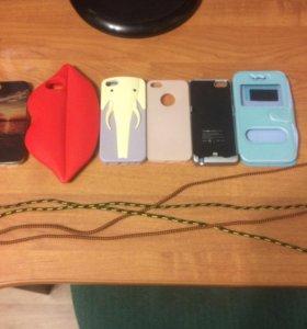 Чехлы на Айфон 5/5s,USB шнур,чехол зарядка на 5/5s