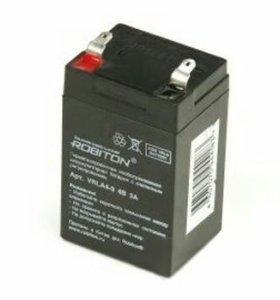 ROBITON Аккумулятор 430 4Vx3,0Ah VRLA 4-3 ROBITON