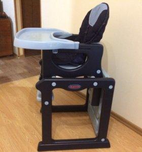 Детский стул-трансформер для кормления