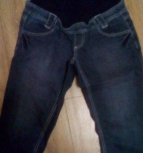 Капри джинсовые,поддерживающие.
