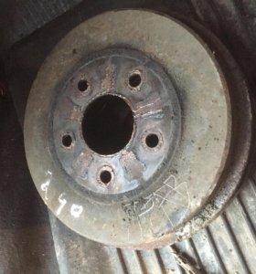 Задние барабаны форд фокус 2