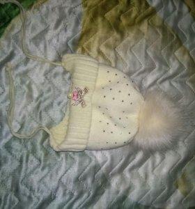 Детская зимняя шапка для девочек