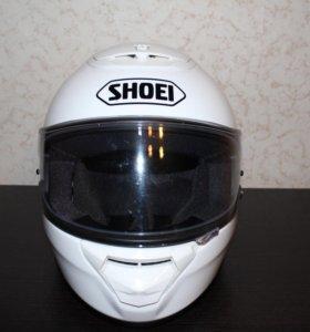 Шлем shoei qwest размер s+ новый тониров-ый визор