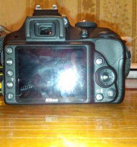 Фотоаппарат (Nikon) d3300