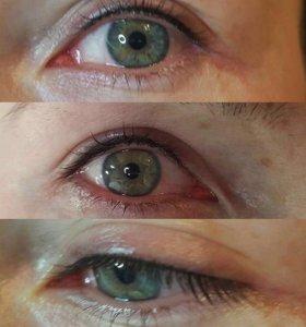 Био макияж глаз