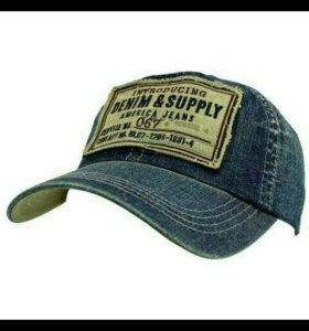 Джинсовые кепки деним джинс