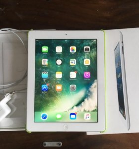 Apple iPad 4 gen 32 GB Wi-Fi + чехол