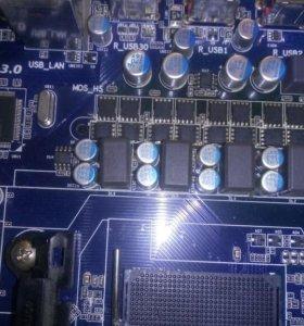 Нерабочая мат.плата gigabyte GA-970A-D3 rev.1.1