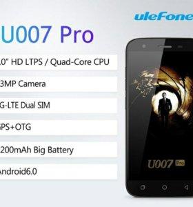 Ulefone U007 Pro (новый в упаковке)