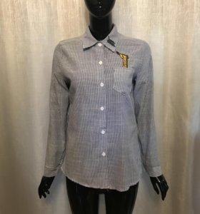 Рубашка женская жирафик