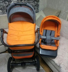 Детская коляска 2 в 1 Adamex Elize.