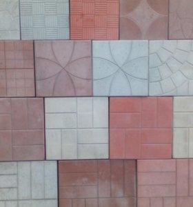 Тротуарная плитка,бордюры,брусчатка