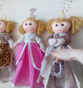 Куклы кухонный декор