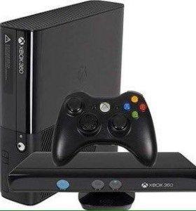 Игровая приставка Xbox 360 250GB + кинект