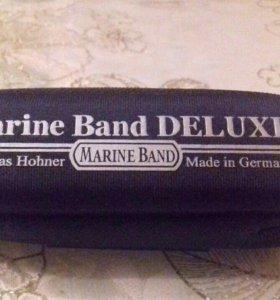 Губная гармошка hohner MARINE BAND DELIXE G