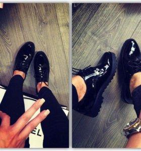 Туфли лоферы 38 39