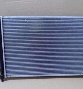 Радиатор на Шевроле Авео
