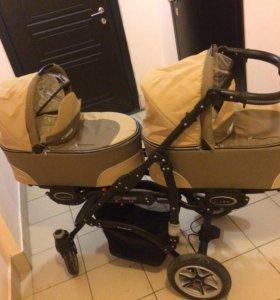 Коляска для двойни babyactive twinny