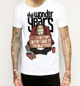 Футболка The Wonder Years (Merch) Pop Punk