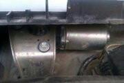 Двигатель и рейка стеклоочестителя 2114