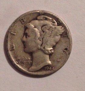 10 центов США (1944)