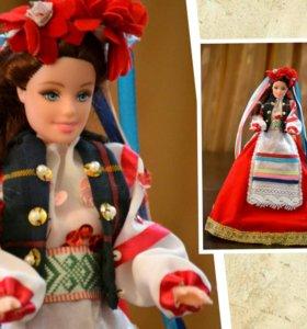 Куклы в народном стиле