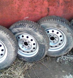 Зимние колеса r13.