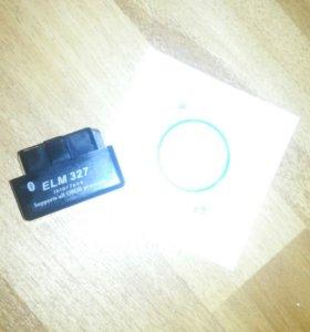 Автосканер ЕLM 327 OBDII v2.1