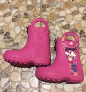 Сапоги Crocs C7 Hello Kitty