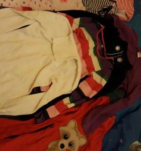 Пакет вещей для девочки 4-8 лет