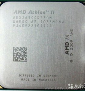 Процессор AMD Athlon II X2 265 3,3 Ghz am3