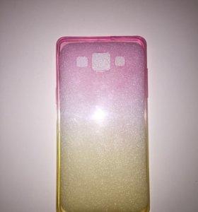 Новый силиконовый чехол на Samsung A5