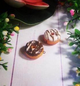 Брелки Пончики
