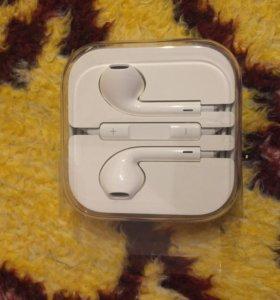 Продаю наушники от iPhone 6 новые