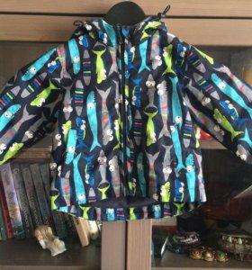 Куртка (ветровка) на флисе BabyGo