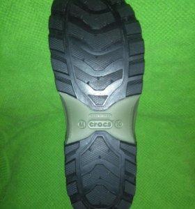 Мужские резиновые сапоги 43 Crocs Wellie
